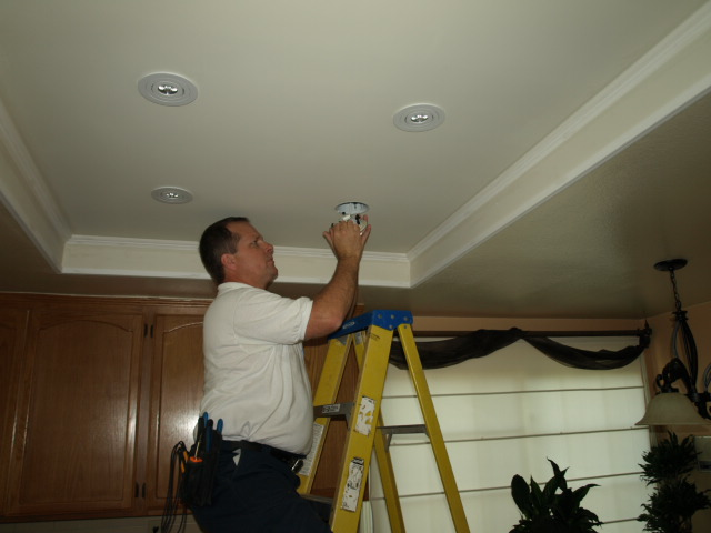 Lighting Calabasas Recessed Lighting Installation