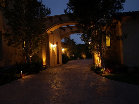 Lighting Calabasas Walkway